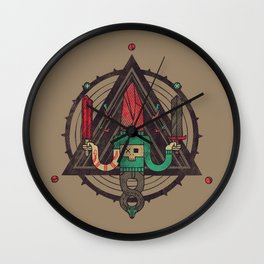 He, with the peculiar voice Wall Clock