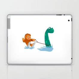 Bigfoot and  nessie Laptop & iPad Skin