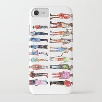 les miserables iPhone & iPod Cases featuring Les miserables by Puckboum