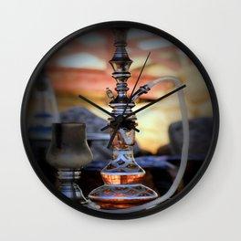 Bedouin Sunset Wall Clock