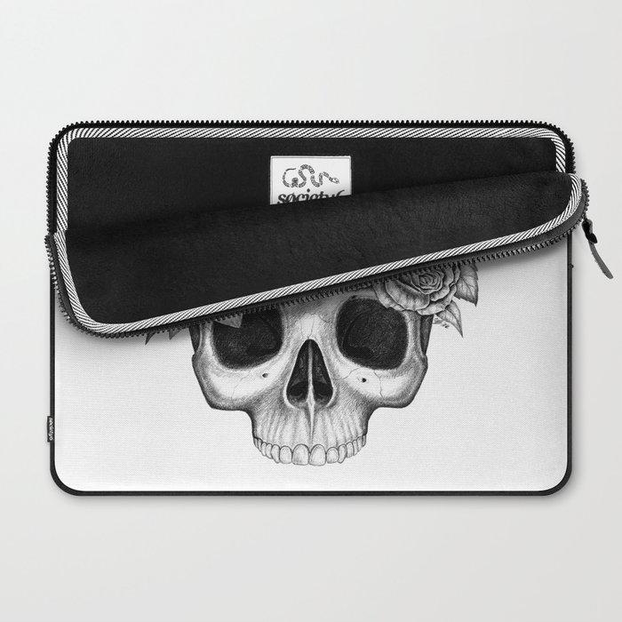 Flowerskull Laptop Sleeve