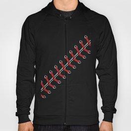 Baseball Lace line Hoody