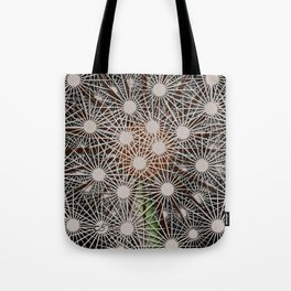 Abstract Dandilion Seeds Tote Bag