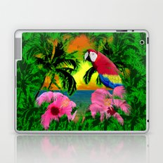 Palm Trees And Island Sunsets Laptop & iPad Skin