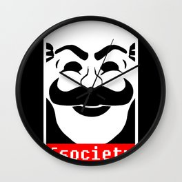 fsociety Wall Clock