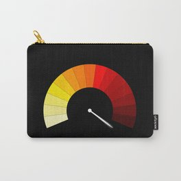 Blank In The Red Carry-All Pouch