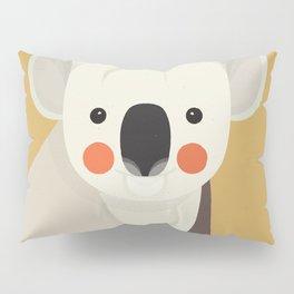 Koala, Animal Portrait Pillow Sham