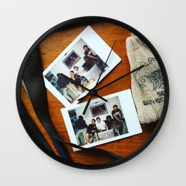 Friends & Family Wall Clock