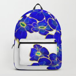 Blue Flowers Composition Backpack