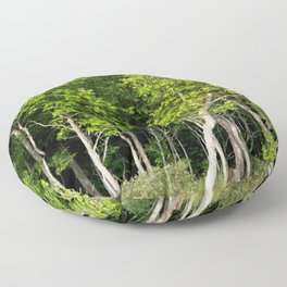 Enchanted Celtic Forest Floor Pillow