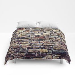 Brick Wall Pattern Comforters