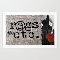 rags_etc1 Art Print