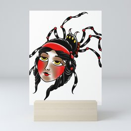 Black widow Mini Art Print