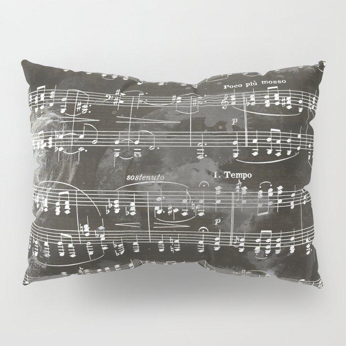 Brahms Sheet Music - Ballade Pillow Sham