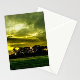 Green world Stationery Cards