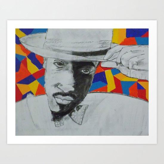 Andre (Benjamin)² Art Print