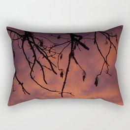 Sunrise Silhouette Rectangular Pillow