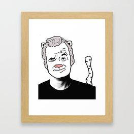 Bill Cat Framed Art Print