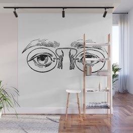 Glasses 3 Wall Mural