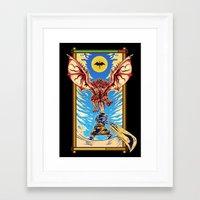 monster hunter Framed Art Prints featuring Epic Monster Hunter by MeleeNinja