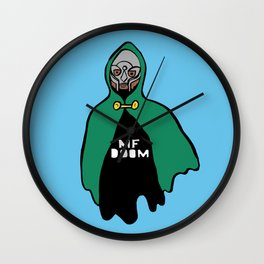 DOOM Ghost. Wall Clock