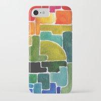 maze runner iPhone & iPod Cases featuring Maze Runner by Lara Nicholls