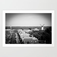 A Dutch view Art Print