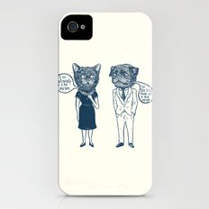 Types Of People iPhone (4, 4s) Slim Case