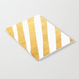 Golden leaf VIII Notebook