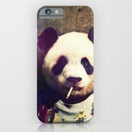 Panda Durden iPhone Case