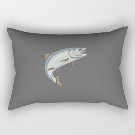 Trout - by Rui Guerreiro Rectangular Pillow