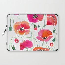 Wild Poppies Light Laptop Sleeve