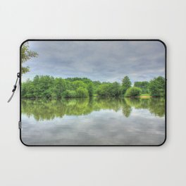 Cloudy Reflection HDR Laptop Sleeve