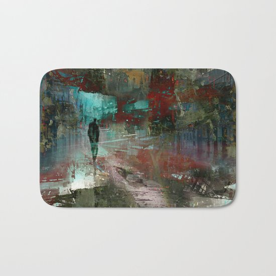 A city without you Bath Mat
