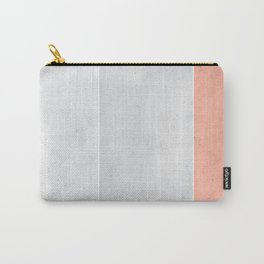 Grey Rose Carry-All Pouch