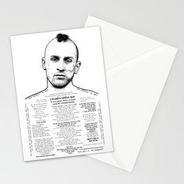 Travis Bickle - God's Lonely Man - Ink'd Series Stationery Cards