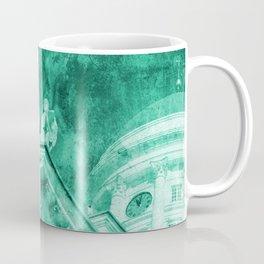 Vintage Helsinki Teal Coffee Mug