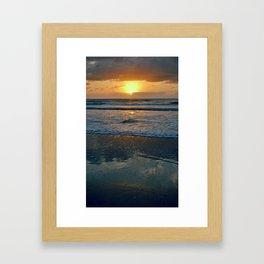 LA FLA Sunrise Framed Art Print