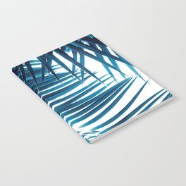 Palm Leaves Blue Vibes #1 #tropical #decor #art #society6 Notebook
