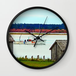 PEI Fun and Water Wall Clock