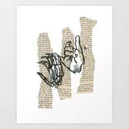 Death Promise  Art Print