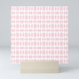 White Sapphires - Pink Mini Art Print