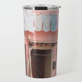 Burano in winter IV Travel Mug