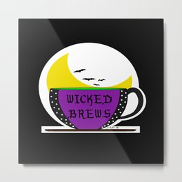 Wicked Brews Metal Print