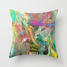 Trot:errel Throw Pillow