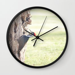 a knock on my morning's door Wall Clock