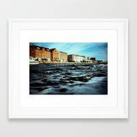 copenhagen Framed Art Prints featuring Copenhagen by Marcin Kubiak