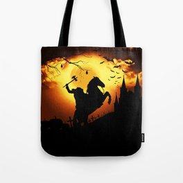 Headless Horseman Tote Bag