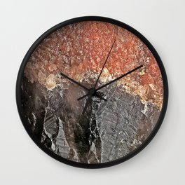 Red Capped Super Seven Wall Clock