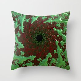 Crocodile Invasion Throw Pillow
